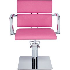 Pink Salon Styling Chair Grey Leather Dining Table Chairs Magic