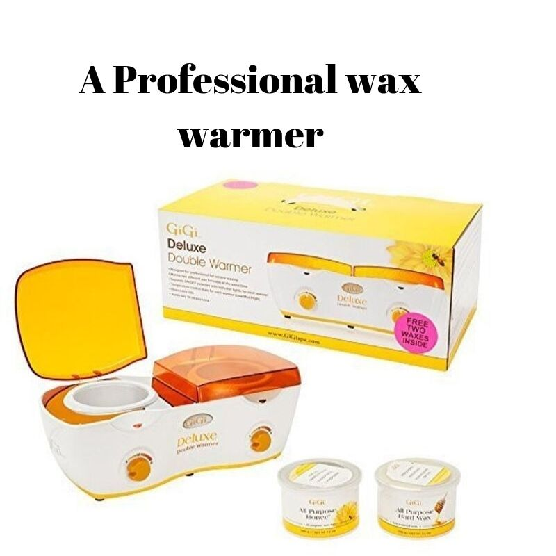 A professional wax warmer