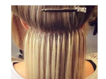 Fusion Bonds hair extensions application Service