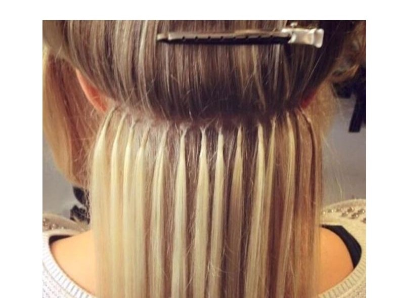 Fusion Bonds hair extensions application Service
