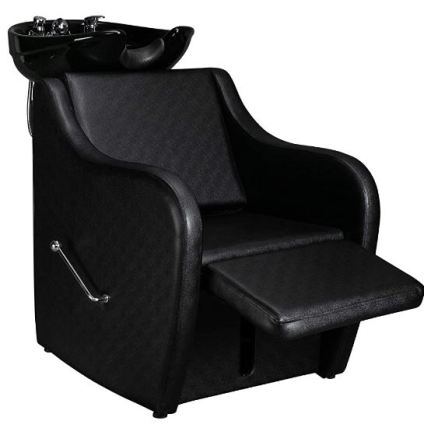 shampoo bowl and chair