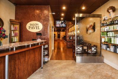 Salon Pavel Reception Area