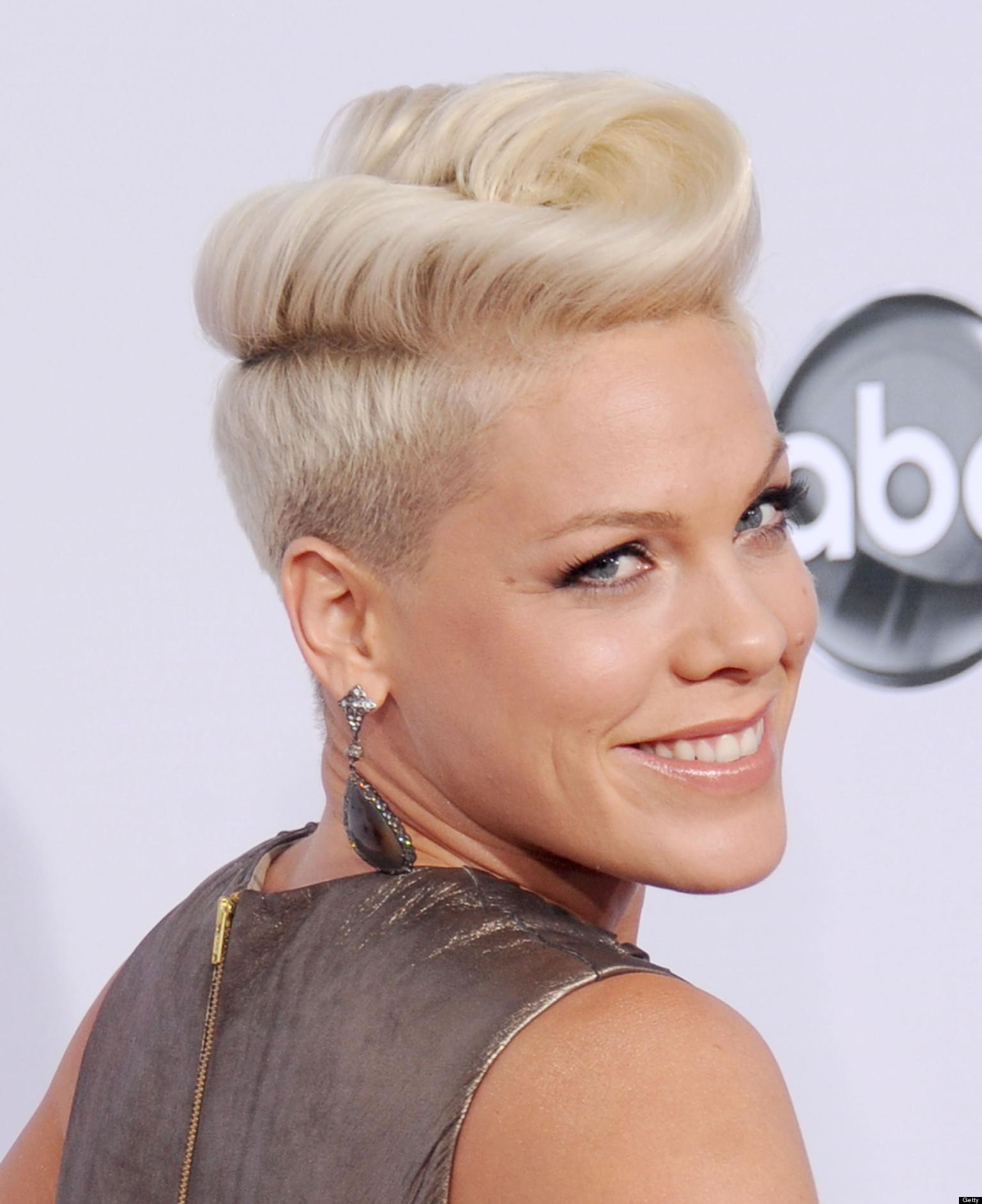Pink Hairstyles Salon Price Lady