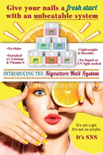 nail salon poster nsd p207