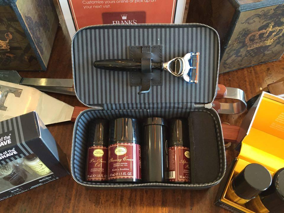 Franks shave kit