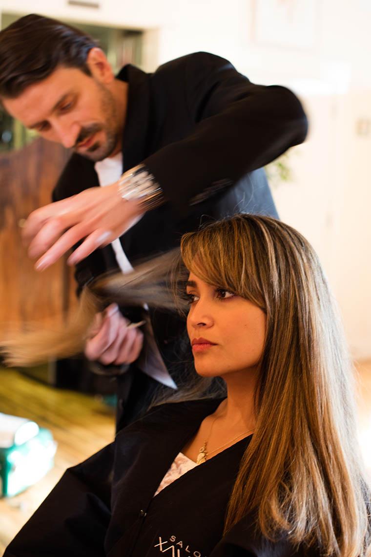 Hamptons Hair Salon owner Xavier  Salon Xavier 6317256400