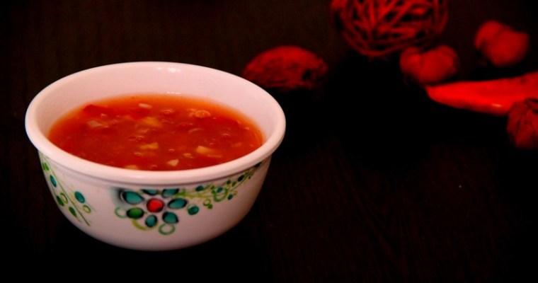 Sweet chilli garlic sauce recipe
