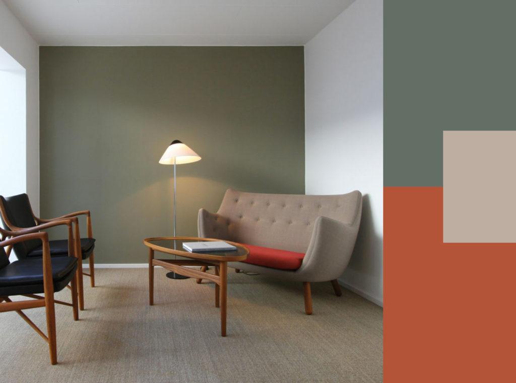 Guida colori casa lequilibrio e leleganza del verde