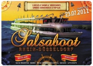 Salsaboot Düsseldorf 2011