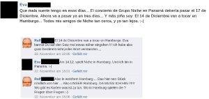 Grupo Niche : Live in Hamburg