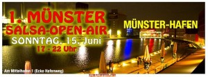 Salsa Open Air am Hafen Münste: Fazit