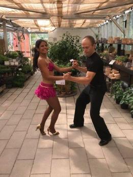 Första dansen, gott om syre.