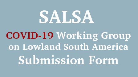 SALSA COVID-19 Working Group Submission Form