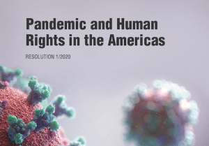IACHR Pandemic and Human rights
