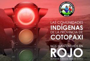 Indigenas de Cotopaxi Covid