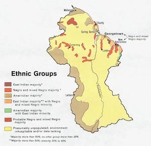 Guyana ethnic groups