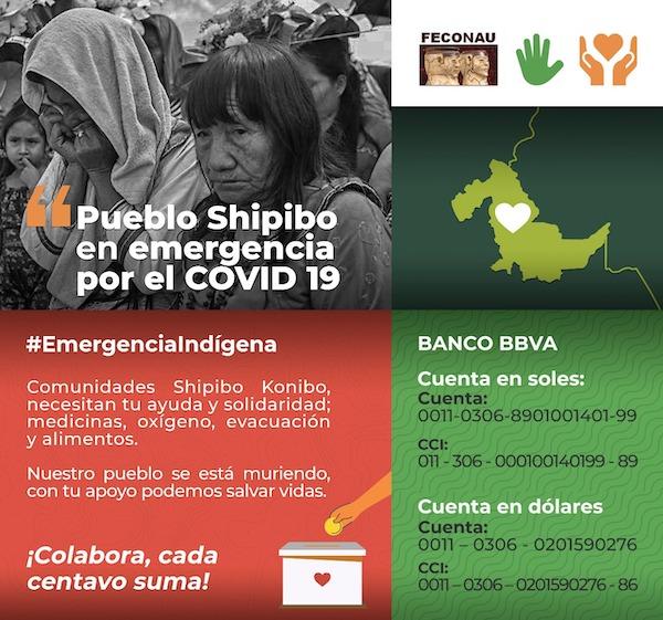 Pueblo Shipibo en emergencia por el COVID-19