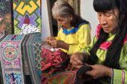 Artistas shipibo-conibo enseñan cursos online de bordado y pintura para subsistir por cuarentena (5-9-20)