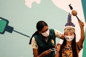 In Brazil's Amazon, fear of COVID-19 vaccine poses challenges (2-12-21)