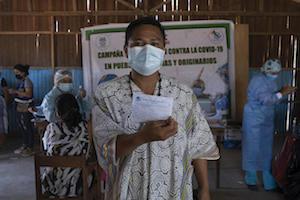 Vacunación indígena en riesgo por falta de información adecuada en las comunidades (7-12-21)