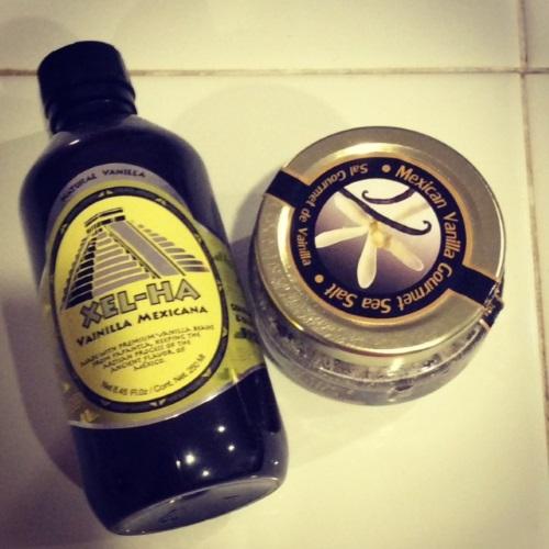 Mexican Vanilla and Vanilla Sea Salt