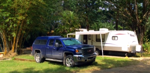 Camping at Mayabell