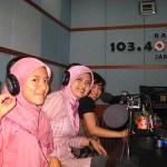 I'm on D-Radio & Majalah Marketing