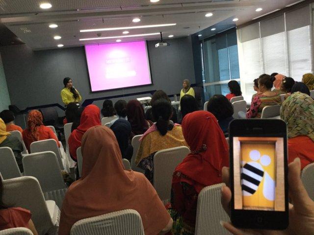 Speaking at IBM Indonesia