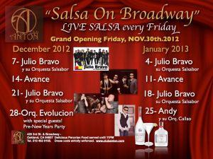 Salsa On Broadway