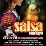 Salsa Sundays Tony O