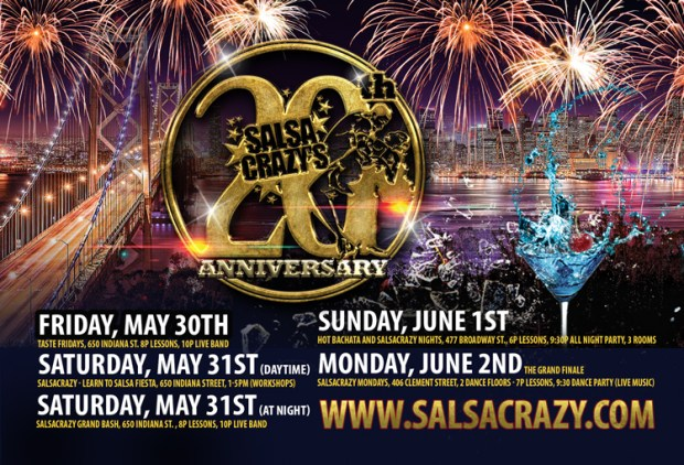 SalsaCrazy 20th Anniversary Party