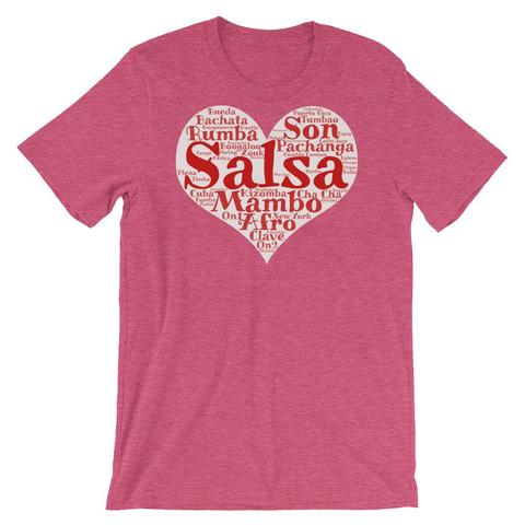 Heart of Salsa Dancing Shirt
