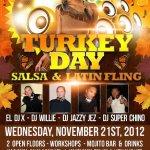 Turkey Day Salsa Fling