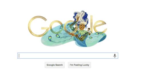 Celia Cruz Google Doodle