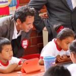 Marc Anthony llegó al Perú para promover el desarrollo de la educación