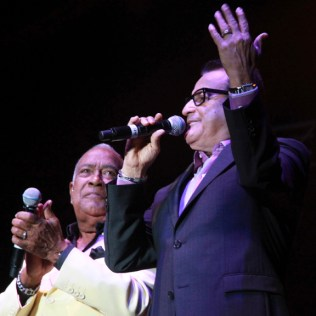 Ismael Miranda y Cheo Feliciano fueron de los mejores aquella noche. (Foto: Diego Toledo)