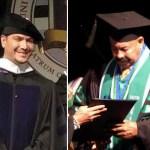 Óscar D' León y Víctor Manuelle se graduaron como doctores Honoris Causa