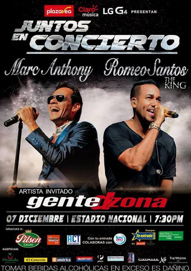 Afiche promocional del evento 'Juntos en concierto'. (Imagen: Difusión)