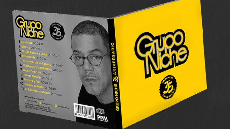 Portada del nuevo álbum del Grupo Niche. (Foto: Facebook/GrupoNiche)