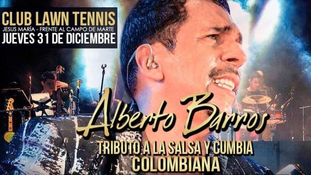 Alberto Barros es uno de los artistas colombianos más reconocidos en el movimiento salsero. (Imagen: Facebook/showentertainment)