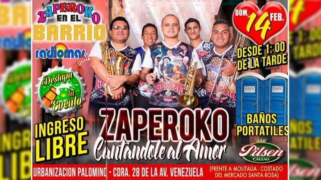 La orquesta Zaperoko está sonando en la FM con el tema 'La revancha' de Hugo Almanza. (Foto: Facebook/Zaperoko)