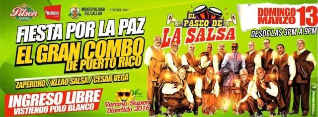 Afiche oficial del concierto por la paz en el Callao. (Foto:Facebook/OrquestaZaperoko)