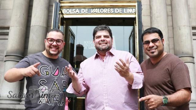 La agrupación de José Lugo estuvo por Lima promocionando su nueva producción. Hoy está nominado al Grammy Latino. (Foto: Antonio Alvarez/ Salserísimo Perú)