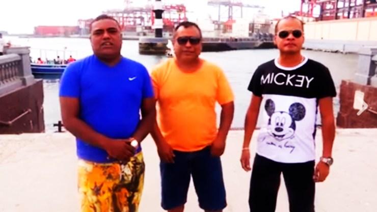 Los tres salseros se dieron cita en el Primer Puerto para hablar sobre el concierto por la paz. (Captura: Facebook/K'llaoSalsa)