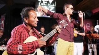Luisito Carbajal tuvo palabras de agradecimiento para su tío Mita Barreto. (Foto: Salserísimo Perú)