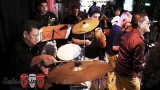 Rubén se lució durante toda la noche. (Foto: Salserísimo Perú)