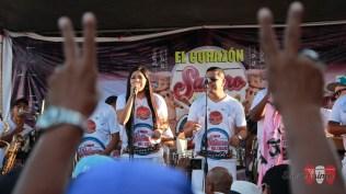 Heylin Geldres, cantante de Los Duros destacó con su voz en un tributo a 'La Loba' Milagros Hernández. (Foto: Salserísimo Perú)