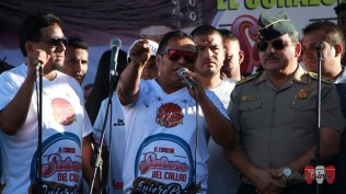 Marco Salazar dio su testimonio de vida y pidió a los jóvenes reflexionar sobre los perjuicios de estar en prisión. (Foto: Salserísimo Perú)