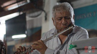 El maestro César Vivanco estuvo presnete con su Charanga del Puerto. (Foto: Salserísimo Perú)