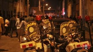 Destacamos el aporte de la policía, presente en este espectáculo que se repetirá en los próximos meses. (Foto: Salserísimo Perú)